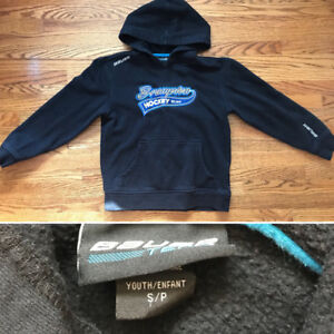 Brampton Hockey Bauer Hoody Youth Small YS