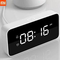 Xiaomi Xiaoai Smart Alarm Clock Voice Broadcast Clock ABS Original Free Shipping