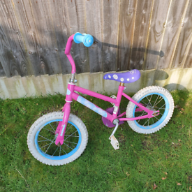 Pink toddler bike