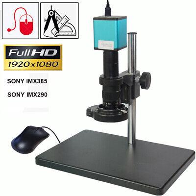 10x-180x 60fps Hdmi Industry Microscope Camera Set Stand Measurement Sony Sensor