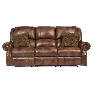 Ashley's Walworth Reclining Sofa and Love Seat - New!