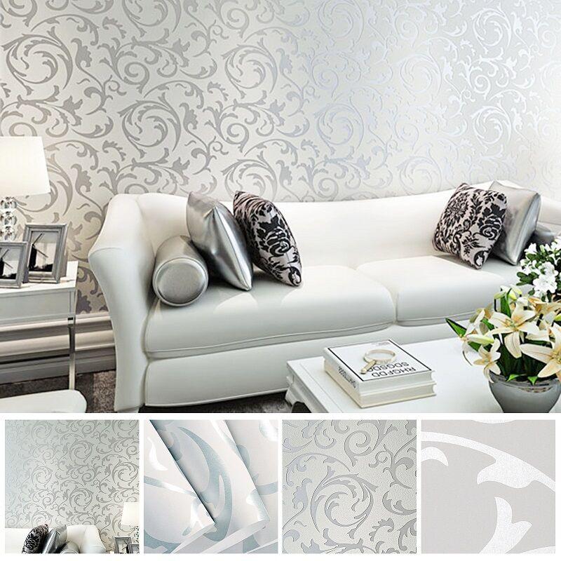 Details zu Vlies Fototapete 3D Optik Tapete Schlafzimmer Wandbilder Barock  Wandtapete 10M