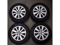 Set of 4 15' VW Golf 6 SE Alloy Wheels
