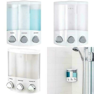 Better Living Products 76354 Euro Series TRIO 3-Chamber Soap And Shower