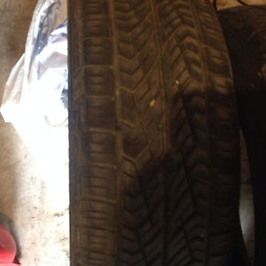 2 YOKOHAMA TIRES FOR SALE