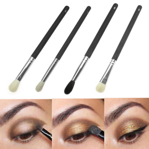 4 Pezzi Ombretto Fondotinta Sfumatura Set Pennelli Cosmetici Makeup Accessori