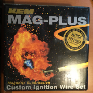 KEM MAG-PLUS 11-4039M CUSTOM IGNITION WIRE SET 6650