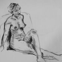 Figure / Life Drawing Sessions for artists all levels