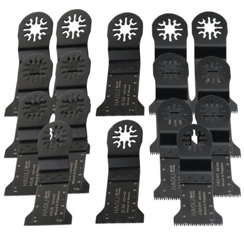 16 Pc Oscillating Multi Tool Saw Blade ...