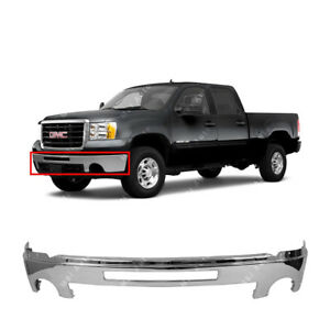 New Chrome 2007-2013 GMC Sierra Front Bumper & FREE shipping