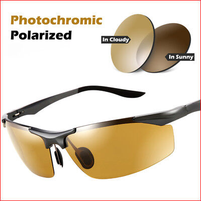 Best Men's Day Night Photochromic Polarized Sunglasses Driving