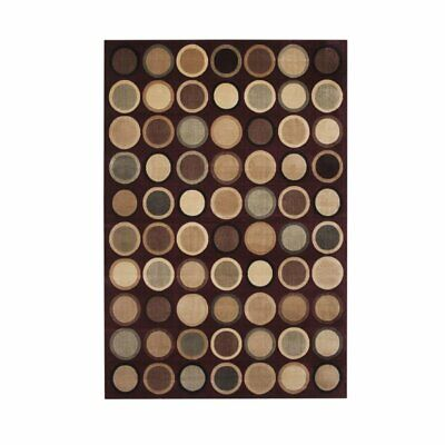 Abacasa Sonoma Beacon Burgundy-Tan-Beige-Sage 8x11 Area Rug