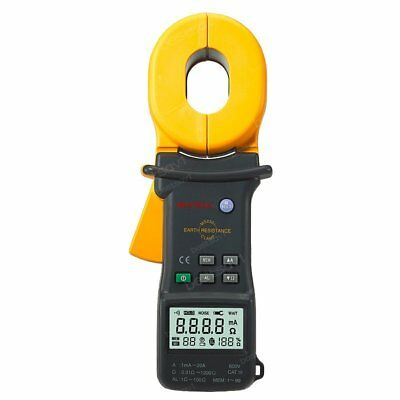 Mastech Ms2301 Digital Advanced Earth Ground Resistance Clamp Meter Tester