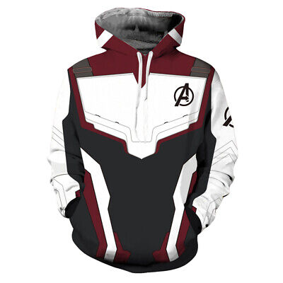 Avengers 4 Endgame Advanced Tech Hoodie Pullover Casual Sweatshirt Coat Outfit](Avengers Outfit)