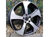 """18"""" Golf 7 GTI Style for VW Audi Seat 5x112 Etc"""