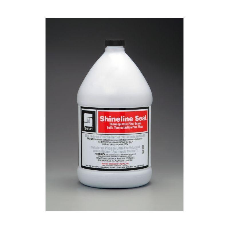 Spartan Shineline Seal Floor Finish/Sealer, Gallons, 4 Per Case