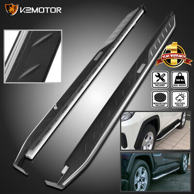 For 2019-2020 Toyota RAV4 Side Step Bars Running Boards Aluminum 2PC