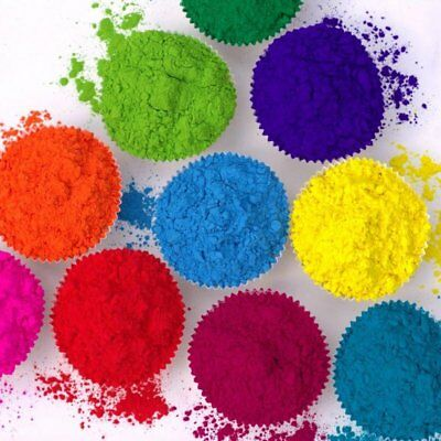 2 x Holi Pulver - Gulal - Festival Farbbeutel - Fotoshooting 10 Farben