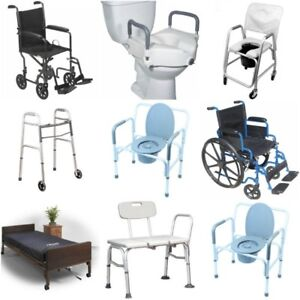 New for Price of Used - Wheelchair, Bath Chair, Grab Bar