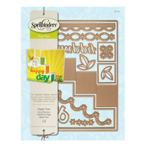 Spellbinders 13-pc Card Creator Step Card-Happy Days - $30