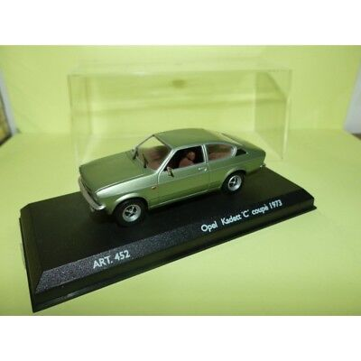 OPEL KADETT C COUPE 1973 Vert DETAILCARS 452 1:43 for sale  Shipping to United Kingdom