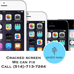 Service de Réparation iPhone 4s/5/5s/5c/6 iPhone repair cracked