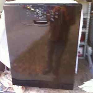 Black Built in Dishwasher