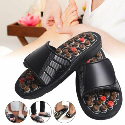 Unisex Massage Hausschuhe Sandalen Füße Reflexzonenmassage Akupressur Fußmassage