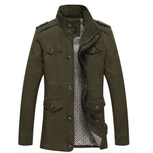 Men's Military Army Green Jacket - XL - BRAND NEW!!