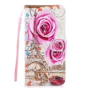 Samsung Galaxy S3 Flip Stand Leather Case Cover with Card Slot