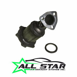 Fits 2004 Nissan Quest 3.5L 6CYL Direct Fit Driver Side Catalyti