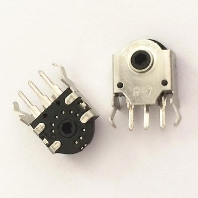 10pcs Mouse Encoder Wheel Encoder Repair Parts Switch 7mm New