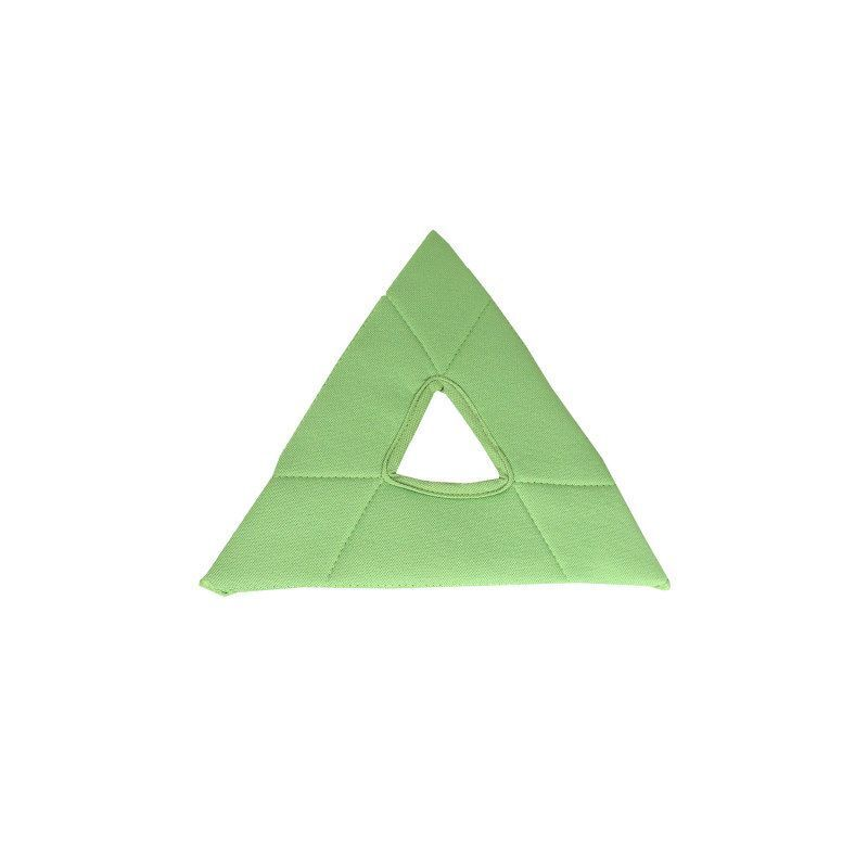 Unger Stingray Glass Cleaning Pad, Triangle, Green, 5/pk, 1 Pack