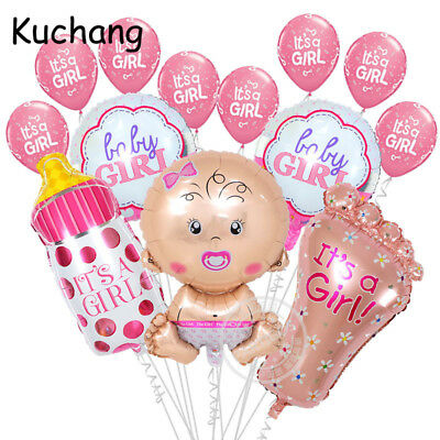 XL BABY GIRL BANNER SHOWER NEWBORN SUPPLY BALLOON balloons BIRTHDAY PARTY LATEX ](Party Birthday Girl)
