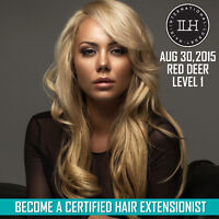 ILH Hair Extension Academy Level 1 training - AUG 30TH RED DEER