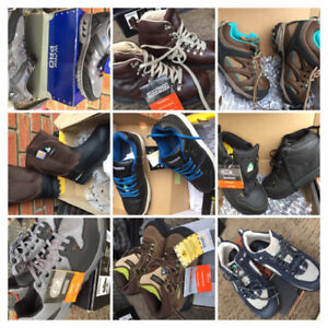 Steel toed safety workboots boots/shoes/footwear NEW men/ladies+