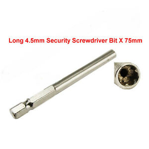Long 4.5mm Security Screwdriver Bit for Super Nintendo 64 System