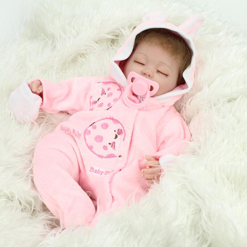 Realistic Reborn Baby Dolls 10 Soft Vinyl Real Life Baby