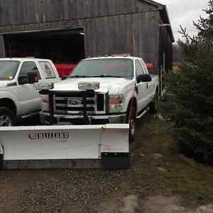 2008 F-250 With Blizzard Plow and Equifab Salter