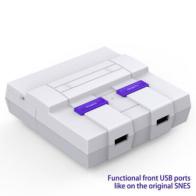 SNES Raspberry Pi Case for Pi 3, 2 and B+ USB ports Functional POWER Cooling Fan