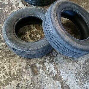 2 Good Used Tires. 215/70R15