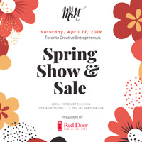 Vendors Wanted - Spring MRKT Show & Sale (Downtown Toronto)