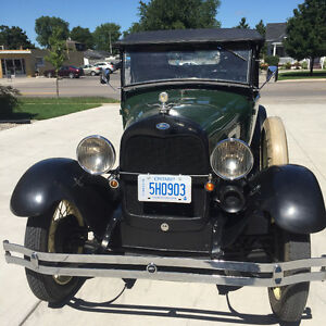 1929 Ford Model A Pickup - Newly Repaired but All Original London Ontario image 2