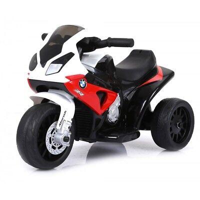 Moto Motocicletta Elettrica per Bambini 6V BMW Rossa