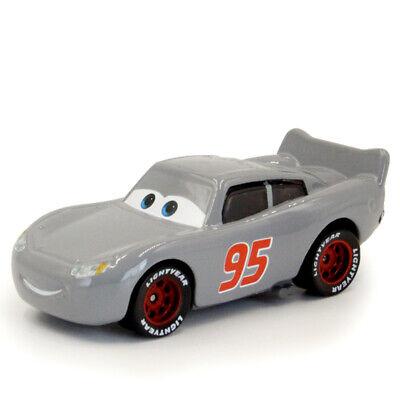 Cars 3 Lightning McQueen Gray Diecast Toy Car 1:55 Loose New Kids Toys Vehicle - Lightning Mcqueen Kids Car