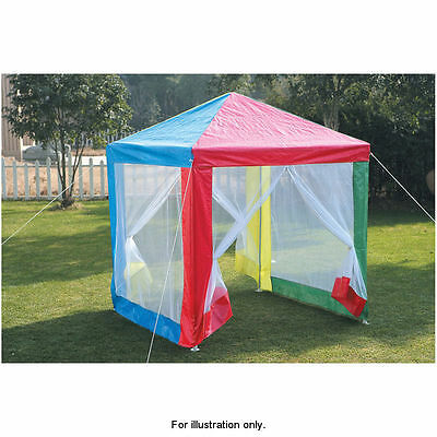 Outdoor Garden Multi Colour Kids Children Gazebo with Side Walls Tent