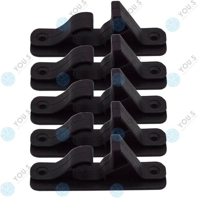 5 x YOU.S Felgenhaken Wall Mount Rim Wheel Holders Tyre Tree Rack