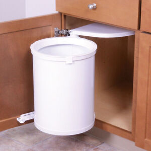 """""""Trashmaster"""" Swing-Out Wastebin / garbage can NEW"""