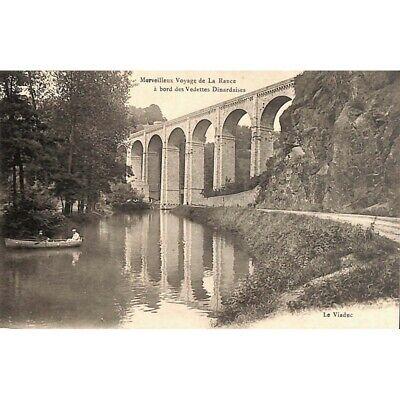 [35] Dinard - Le Viaduc. Merveilleux voyage de La Rance à bord des Vedettes Dina