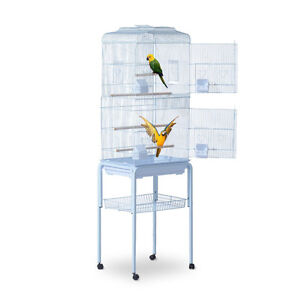 "Pet Bird Cage 63"" Large Play Top Parrot Finch Macaw Cockatoo w/W"